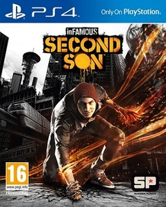 Infamous second son boxart