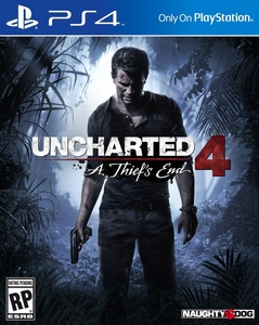 Uncharted 4 box w9xe